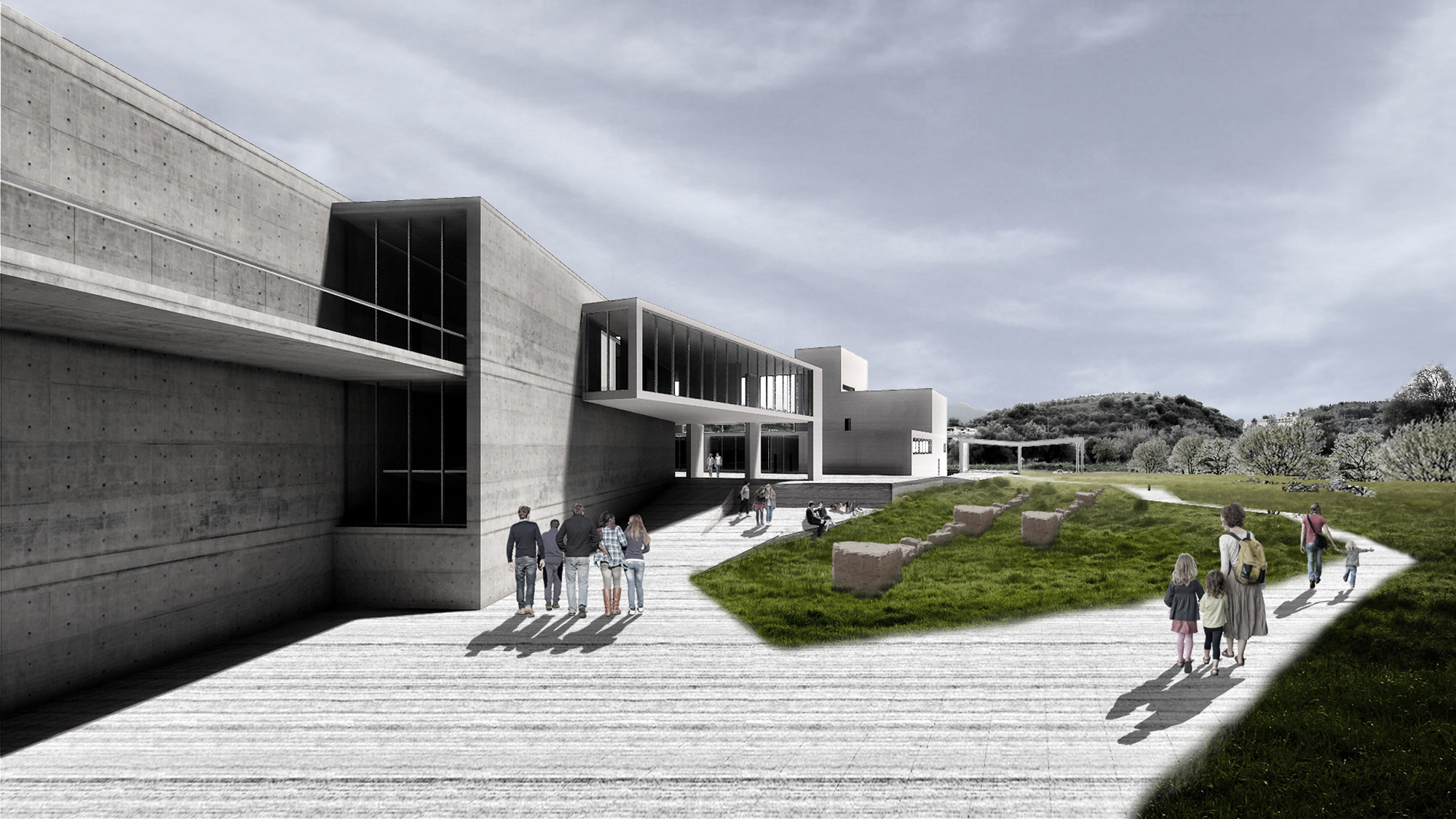 Νέο Αρχαιολογικό Μουσείο Σπάρτης. Τρίτο βραβείο
