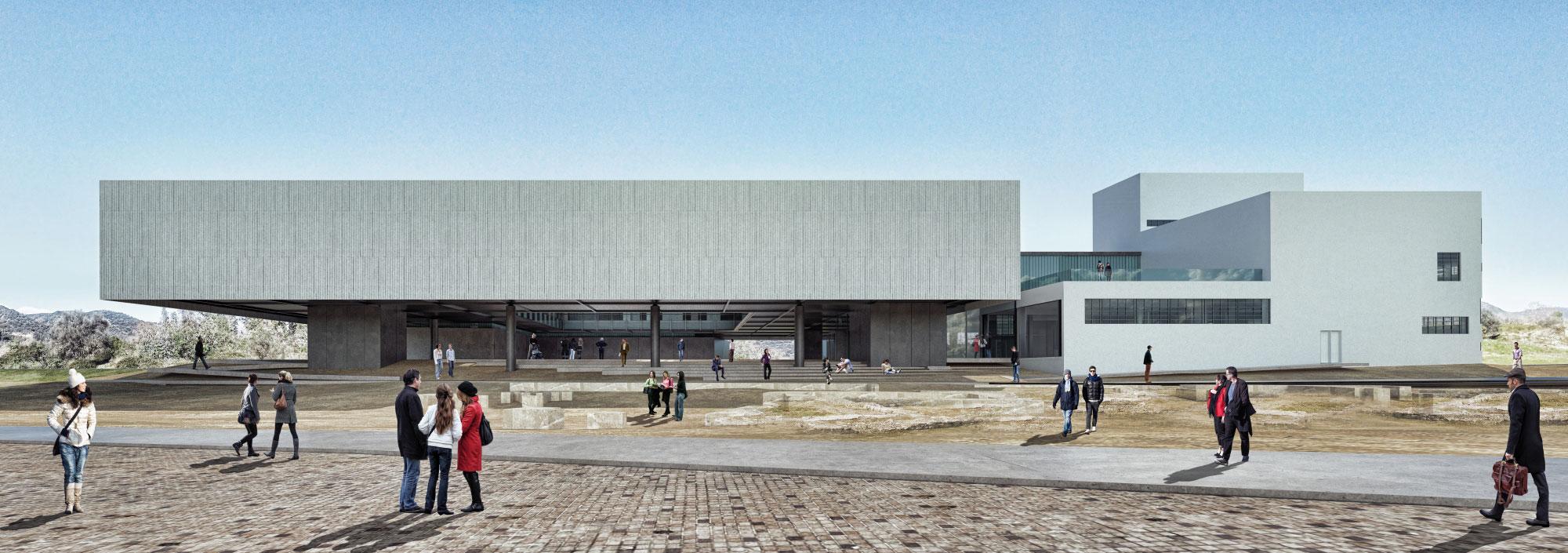 Νέο Αρχαιολογικό Μουσείο Σπάρτης. Πρώτο βραβείο