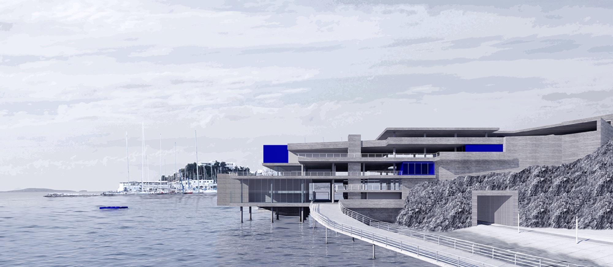Κτίσμα, θάλασσα και βράχος: Ενεργοποιώντας το Πνευματικό Κέντρο Ζαχαρίου, στον Πειραιά