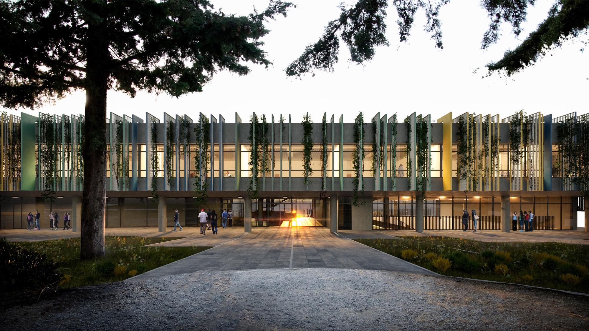 Κολλέγιο Ανατόλια, νέο κτήριο του Pinewood – American International School - B' βραβείο