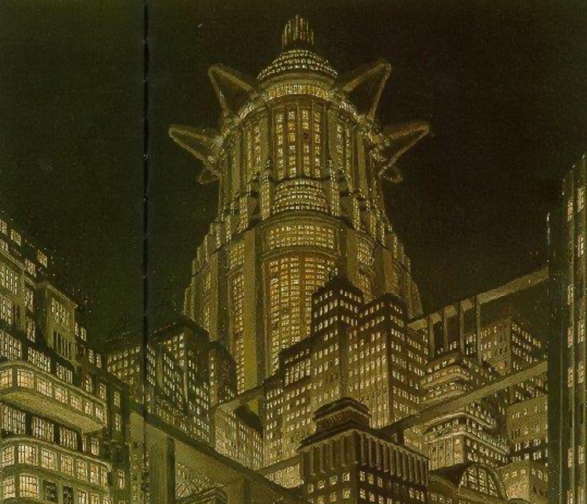 Expressionist Dystopia: Metropolis (1927)