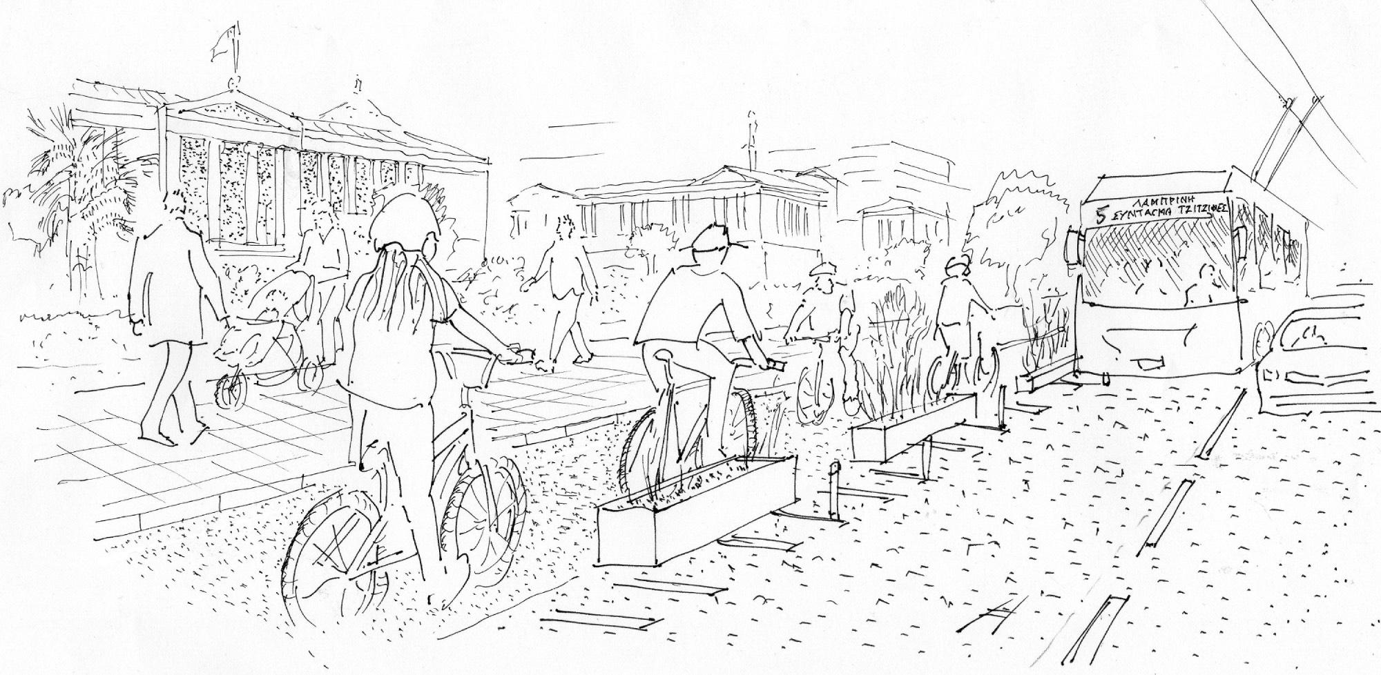 Σχετικά με την πρόταση για το κέντρο της Αθήνας