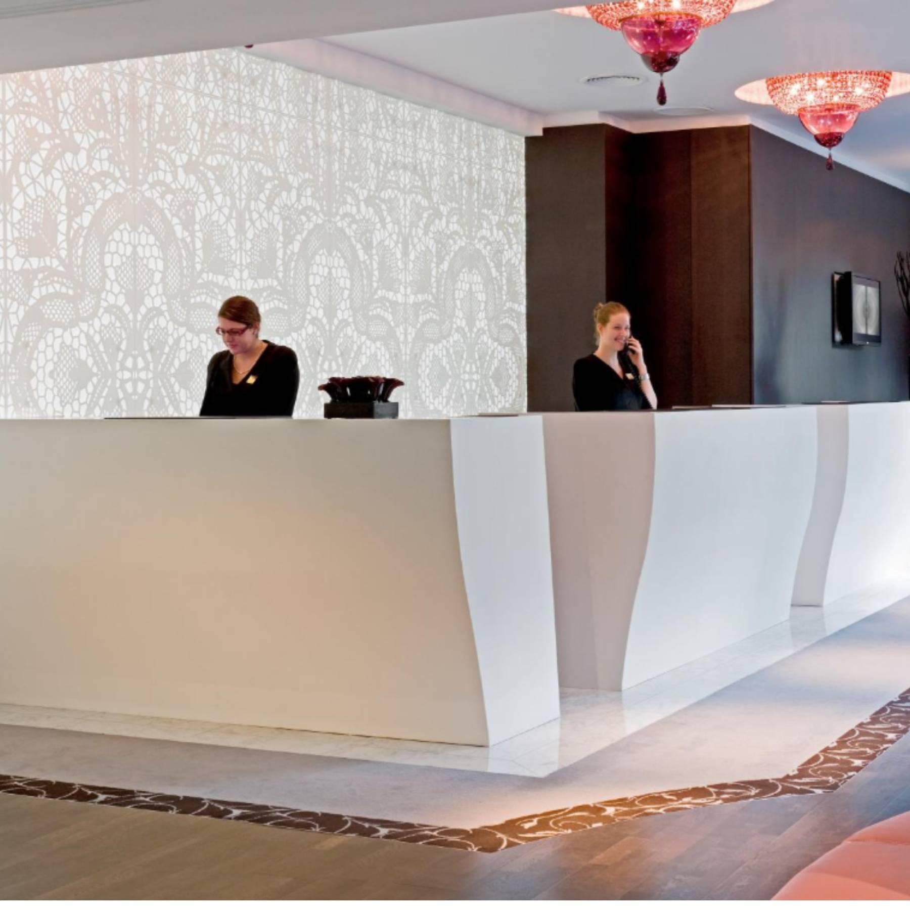 Το Corian® ως υλικό επένδυσης στα ξενοδοχεία μετά την πανδημία