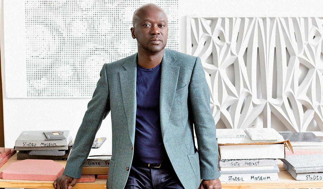 David Adjaye: Από το χάλκινο μετάλλιο στο χρυσό, μια διαδρομή 30 χρόνων