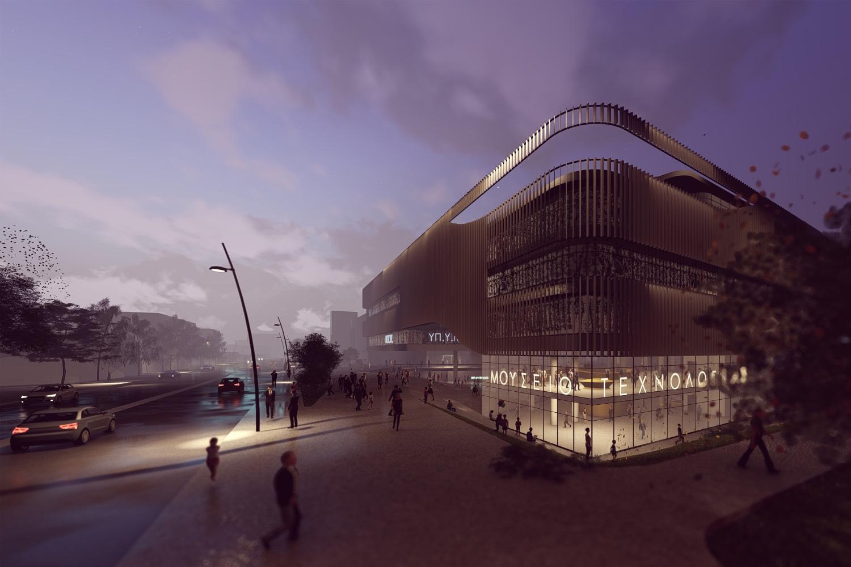 Νέο Κτήριο της Γενικής Γραμματείας Υποδομών (Α' βραβείο)