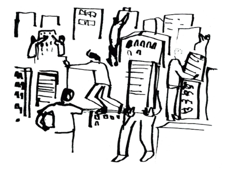 Ο πρωταγωνιστικός ρόλος της γειτονιάς στο κέντρο, πόλη: Εξάρχεια, Κυψέλη, Κάτω Πατήσια