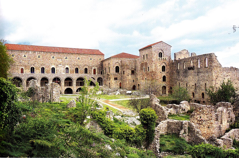 Το ύστερο βυζαντινό Παλάτι του Μυστρά και η αναστήλωσή του