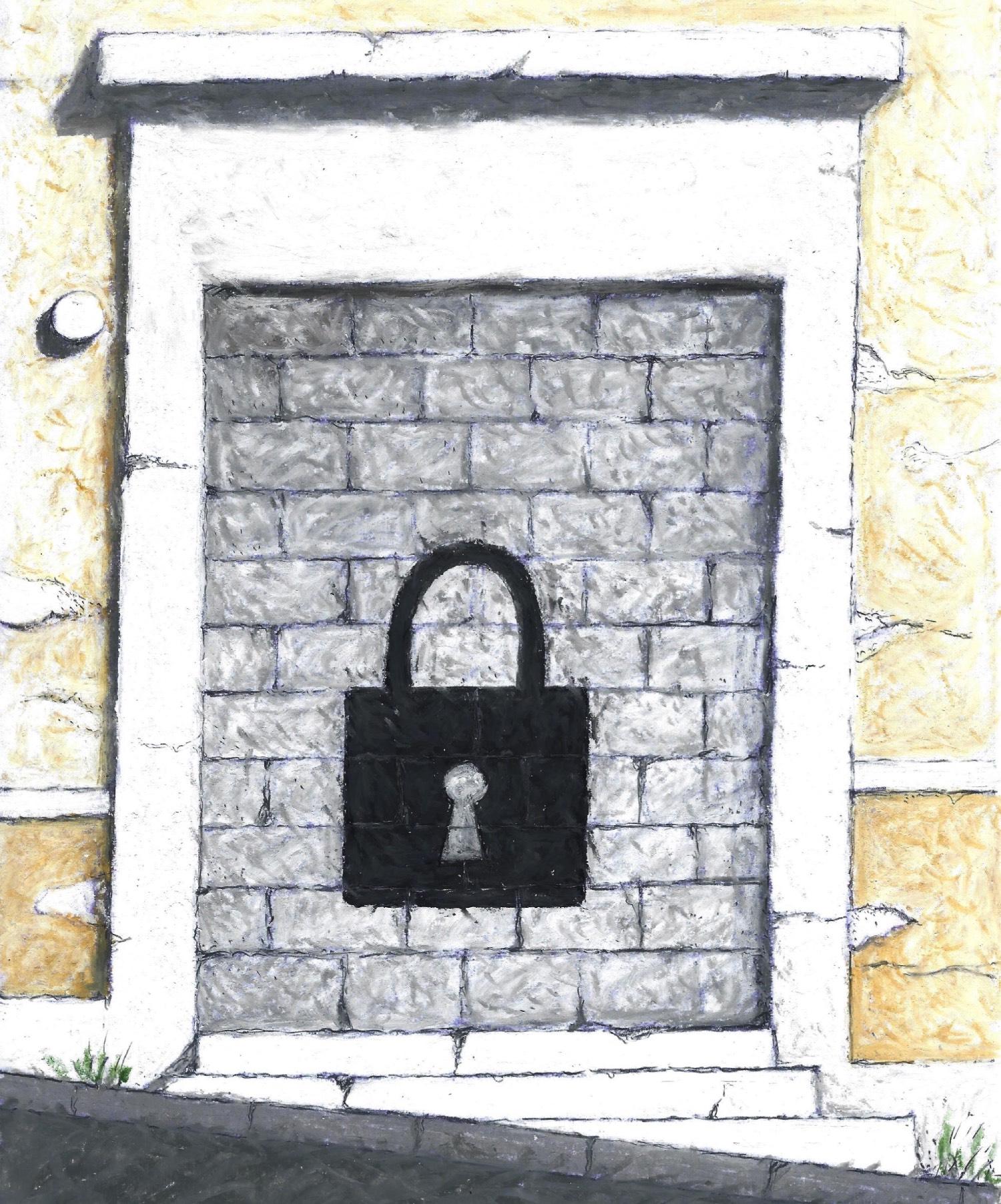 Η χτισμένη πόρτα