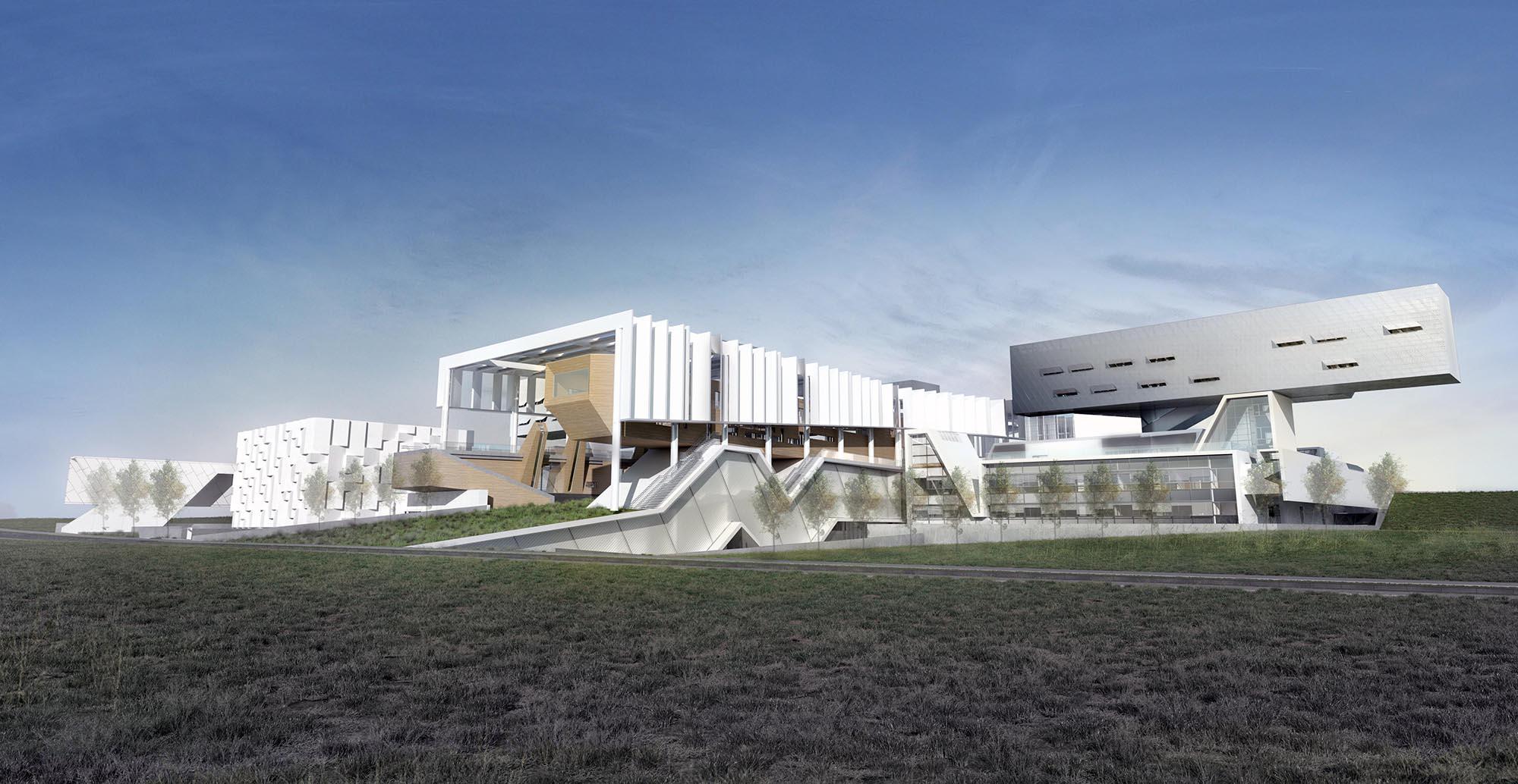 Κτηριακές εγκαταστάσεις της Πολυτεχνικής Σχολής του Πανεπιστημίου Κύπρου
