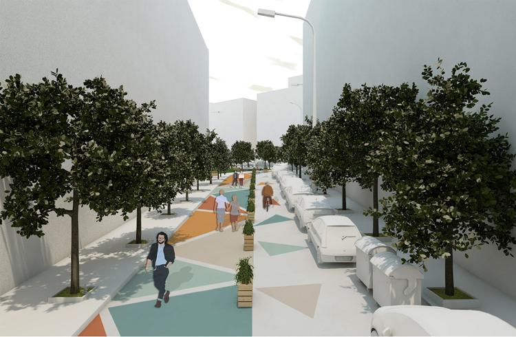 Rotunda's Superblock [4 0 o 6 3', 2 2 o 9 5'], εφαρμογή στρατηγικών tactical urbanism στην περιοχή της Ροτόντας Θεσσαλονίκης
