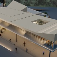 Ανακατασκευή και επέκταση του Δημαρχείου Δ. Πύλης (Γ' Βραβείο)