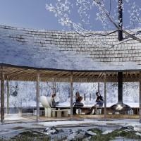 A Pavillion for Sanderumgaard Romantic Garden