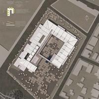 «Ανοιχτό» αίθριο. Κτίριο υπηρεσιών της ΠΕΔΑ στην Ελευσίνα