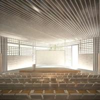 Hortus Conclusus. Κτίριο υπηρεσιών της ΠΕΔΑ στην Ελευσίνα