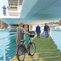 The wave. Discovering a Public Space on a Cycling Bridge