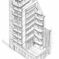 Κτίριο γραφείων στην οδό Λαμψάκου